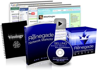 The Renegade Network Marketer Package